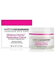 - WILMA SCHUMANN Moisture Intensiv Restorative Crème - Long lasting Firming & Hydrating skincare Treatment. Contains Peptides and Botanical Extracts. For Dry, Mature and/or Dehydrated Skin (1.7 oz/50ml)