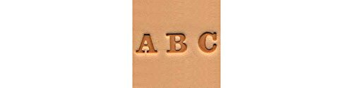 Tandy Leather Easy-To-Do Stamp Set Alphabet 0.6 cm (1/4