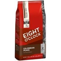 Eight O'Clock Coffee Whole Bean Colombian Peaks, 22 oz (Pack of 6)