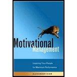 Motivational Management (02) by Hiam, Alexander [Paperback (2002)]