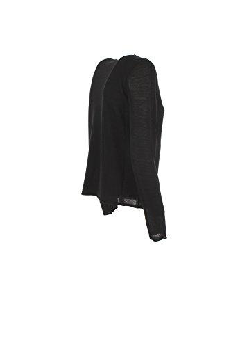 Maglia Donna Armani Jeans 48 Nero 6y5m2c 5mfpz Autunno Inverno 2017/18