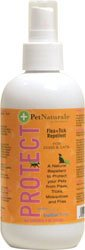 Pet Naturals Of Vermont Protect Flea+Tick Repellent Spray For Dogs & Cats