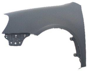 OE Replacement Volkswagen Rabbit Front Passenger Side Fender Assembly (Partslink Number VW1241137)