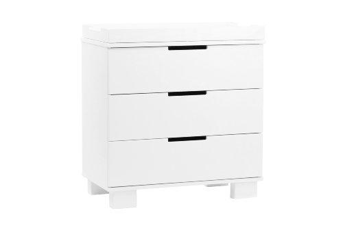babyletto Modo 3-Drawer Changer, White