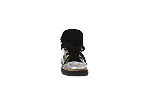 Countquia, Signore Sneaker Argento Argento / Nero