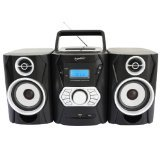 Supersonic SC806BT Durable CD Boombox with Bluetooth