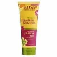 Alba Hawaiian Body Wash, Passion Fruit, 7 oz
