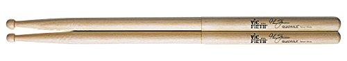 (Vic Firth Corpsmaster Multi-Tenor stick -- Thom Hannum Quadbale)