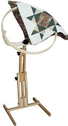 Frank A. Edmunds Quilters Wonder! 18'' Hoop with Adjustable Stand, 2645 by Frank A. Edmunds
