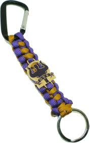 Omega Psi Phi Fraterniy Paracord Survival Keychain