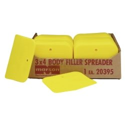 Yellow Plastic Spreaders - 150/Pk - Small