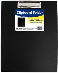 Bulk Buy: C-Line Clipboard Folder Black (3-Pack)