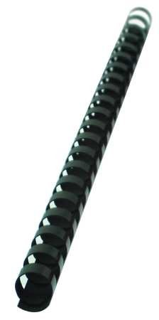 Binding Spines, Comb, 3/8in, Black, - 0.375 Inch Binding Combs