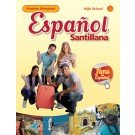 img - for Espa ol Santillana HS Practice Workbook Level 1 book / textbook / text book
