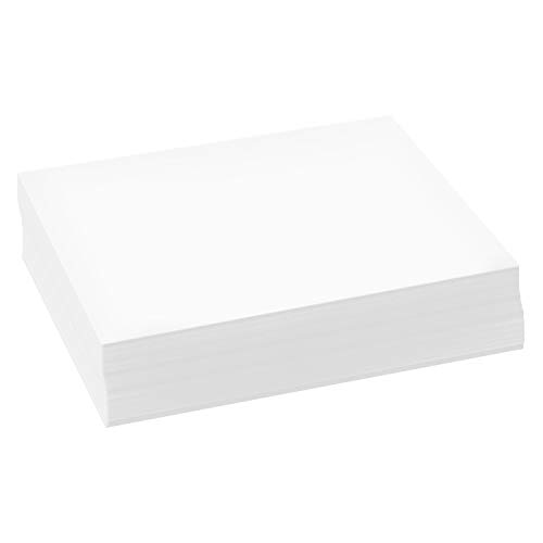 - 500 Sheets of Bright White 8.5