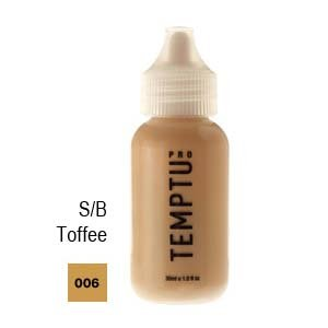 Temptu Pro Silicon Based 006 Toffee 4oz. S/b Foundation Bottle by Temptu
