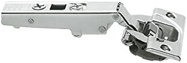 10 Pack Clip top 110° Full Overlay, Screw-on Hinge - 71B3550