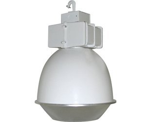 RAB Lighting BLH400AW16DLPSQ Lighting Low Bay 400-watt Mh Psqt 16 Reflector + Drop Lens, White - Mh Low Bay