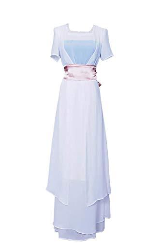 WonderPlay Titanic Cosplay Women's Romantic Costume Rose