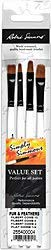 Robert Simmons Simply Simmons Value Brush Sets Fur and Feathers Set set of 4