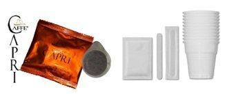 Espresso napoletano 150 kaffepads papier 44 mm avec kit