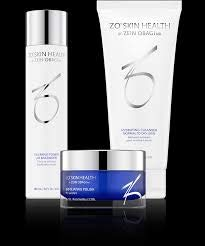 ZO Skin Health Getting Skin Ready Normal to Dry 3 Step System, Hydrating Cleanser, Exfoliating Polish, Calming Toner