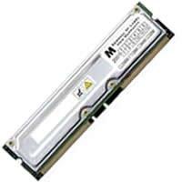 - 256MB PC600 184 pin RDRAM RIMM ECC (APF)
