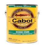 Cabot Stains 1406-GAL Deck & Siding Stain Oil Formula with Neutral Base, 1 gallon (Cabot Semi Solid Stain)