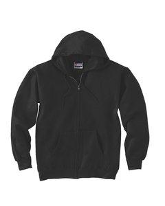 F280 Hoodie Sweatshirt - Sport-Tek Men's Super Heavyweight Crewneck Sweatshirt XXL Black