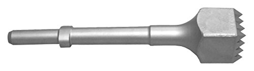 Champion Chisel, Steel Bushing Tool with 16 teeth.680 Round Shank Oval Collar, Designed for .680 Round Chipping Hammer with Oval Retainer