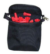 Boulder Bag ULT 650 Zippered Connect-A-Pouch with Metal clip (Clip on). Color Black. Made in U.S.A.