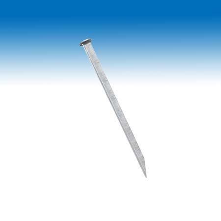 10 Stk. Profi Erdnagel Zeltheringe Felsbodenhering mit Nagelkopf 40 cm lang d= 3,2cm verzinkt