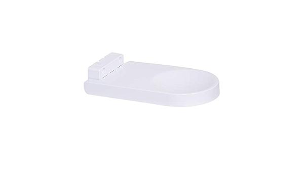 1 pieza Protecci/ón para mayor higiene Montaje para pared Bandeja anti goteo universal para dispensador de desinfectante para manos y soporte de dispensador de jab/ón