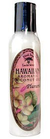 Island Soap Company Aromatic Coconut Oil - 4.5 oz. - Plumeria by Island Soap Company