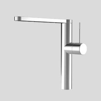 Swivel Spout Steel KWC Faucets 10.151.413.700 ONO Kitchen Faucet