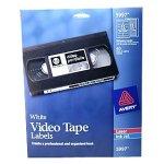 Avery 5997 Video Tape Label Audio Cassette Label Template