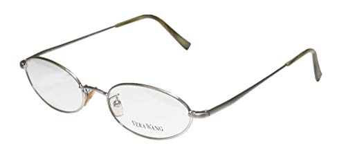 Vera Wang V09 Womens/Ladies Ophthalmic Original Oval Full-rim Flexible Hinges Eyeglasses/Eyeglass Frame (47-17-135, ()