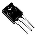 ST Micro TIP142 Darlington NPN Transistor, 100V, 10 Amp, 3-Pin, 3+ Tab TO-247 Tube, 20.15 mm H x 15.75 mm L x 5.15 mm W