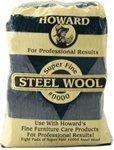 Wool Steel Wax (Original Howard Super Fine (0000) Steel Wool)