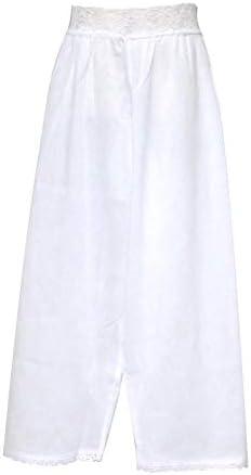 ステテコ レディース(Lサイズ)ローライズタイプのステテコ 「白」ASL0749