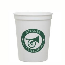16 oz. Smooth White Stadium/Souvenier Cup,full case of 500 by Cole Industries