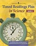 Timed Readings Plus in Science, McGraw-Hill - Jamestown Education, Glencoe/ McGraw-Hill - Jamestown Education, 0078273757