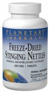 Planetary Formulas Freeze-Dried Stinging Nettles, 420 mg, Tablets, 120 tablets (Pack of 2) by Planetary Formulas