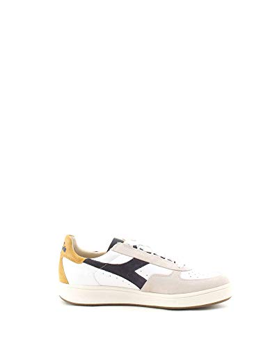 S Heritage 41 L Uomo Elite Diadora Suede Pelle EU Bianco B Sneakers I6pqBw