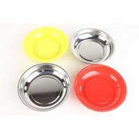 4 PC Strong Magnetic Parts Tray Cup Holder Dish For Screws Nuts Bolts - Ez Holder Tarp