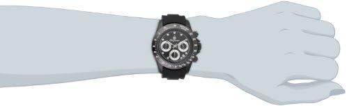 Burgmeister - BM514-622A - Montre Femme - Quartz Chronographe - Bracelet Silicone Noir