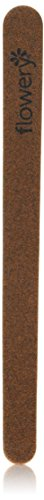 Flowery Wood Core Professional File Emery Board, 7 Inch, 500 Count by Flowery
