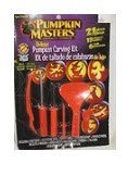 Pumpkin Masters® Deluxe Pumpkin Carving Kit: 21 Pieces; 15 Patterns; Safter Than Kitchen Knives]()
