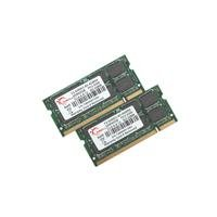 GSKILL 4GB (2 x 2GB) 200-pin PC2-5300 DDR2 667 Dual Channel SO-DIMM Notebook Memory Kit (F2-5300CL5D-4GBSA) (4 Silver Gb Kit)