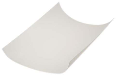 12 inches x 12 inches CS Hyde Virgin Skived PTFE Film White No Adhesive 0.002 inches Pack of 25